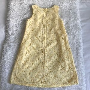 The Children's Place Girls Sleeveless Lace Yellow
